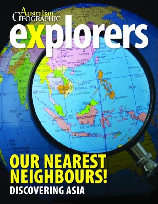 Woodslane publisher australian geographic explorers our nearest neighbours by author australian geographic gumiabroncs Images